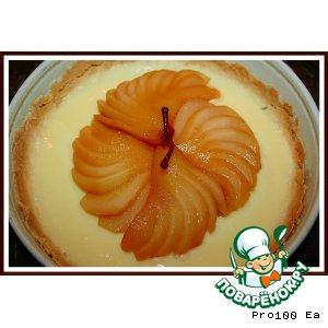Украшение из груш для десертов