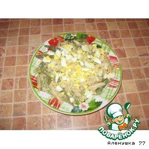 Стручковая фасоль со сметаной и сыром