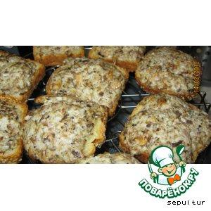 Бутерброды с сайрой в аэрогриле