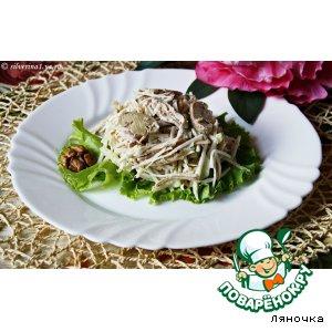 Салат из курицы и сельдерея