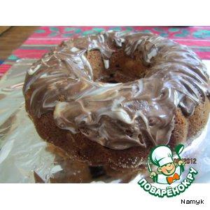 Вишнево-медовый кекс