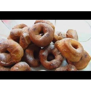 Пончики ванильные