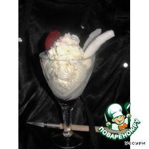 Несладкое кокосовое мороженое