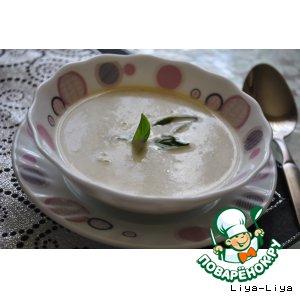 Быстрый суп из кабачков
