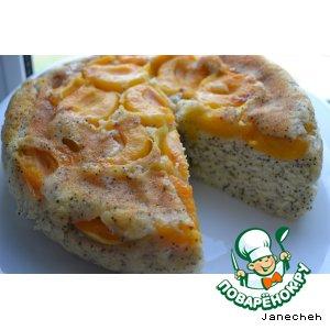 Перевернутый торт с абрикосами