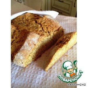 Ирландский быстрый содовый хлеб с овсяными хлопьями