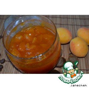 Варенье из абрикосов с кофе