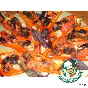Печеные перцы по-итальянски