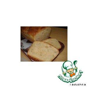 Хлеб картофельный с тмином