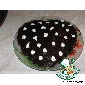 "Шоколадный кекс  ""Божья коровка"""