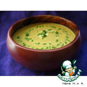 Крем-суп из сквоша и тыквы