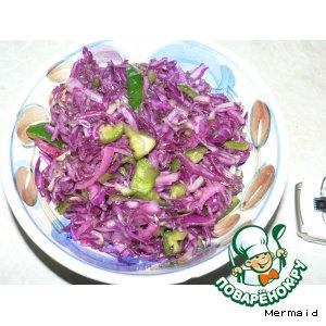 """Салат """"Синька-зелeнка"""""""