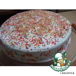 Легкий бисквит-торт «Радость»