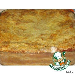 Яблочные пирожные с манкой