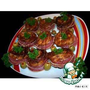 Заварные пончики с начинкой