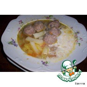 """Суп с фрикадельками """"Ностальжи"""""""