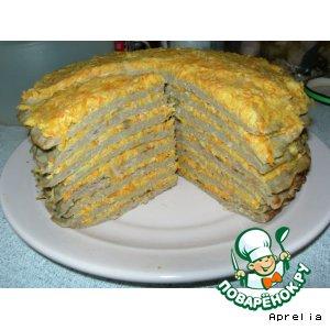 Печеночный торт. Начинка № 2