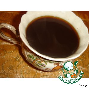 Кофе со жженым сахаром