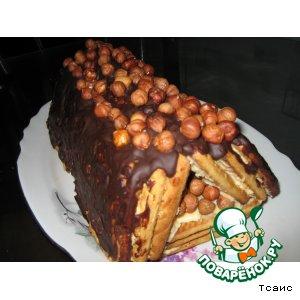 """Торт """"Творожный домик"""""""
