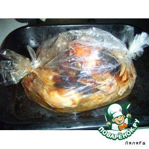 Курица с черносливом, курагой в пакетике