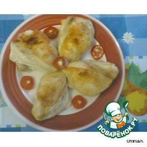 Курица с томатами черри