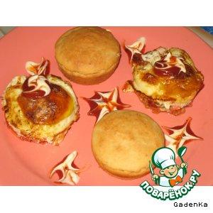 Завтрак «2 в 1 » или как сделать быстрые булочки к завтраку