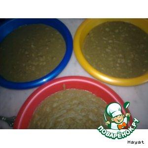 Мжаддара-пюре из чечевицы с рисом