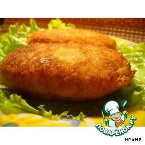 Сырно-рисовые котлеты