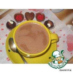 Горячий шоколад «Орехово-имбирный»