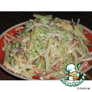 Салат из редьки №