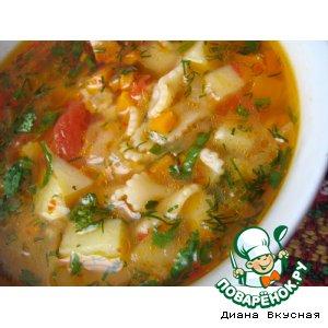 Суп макаронный классический