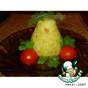 Гарнир «Рис с апельсиновым соком»