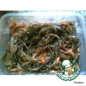 Морская капуста (пресервы) рецепт №2