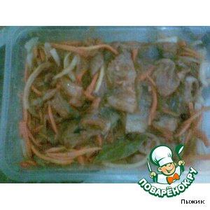 Пресервы с сельдью с овощами (рецепт №2 )
