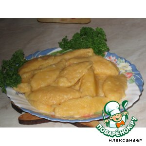Ньeки из тыквы и картофеля