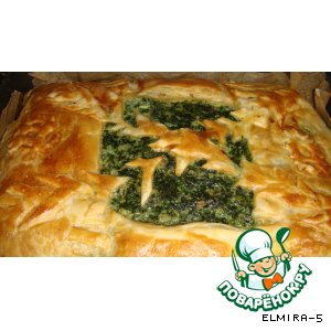 Пирог из зелени