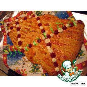 """Пирог """"Новогоднее настроение"""""""