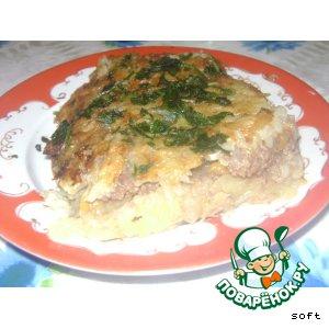 Пирог из картофеля с начинкой