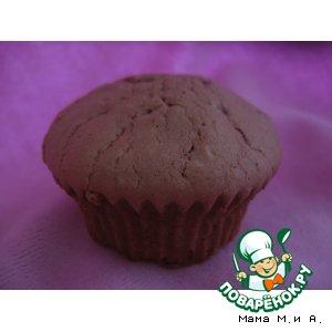 Кексы с шоколадом и кофейным ликером