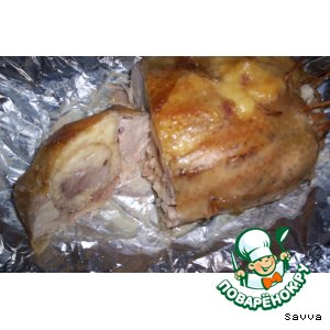 Курица с сыром