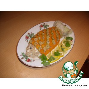 """Салат """"Рыбка в цветной шубке"""""""
