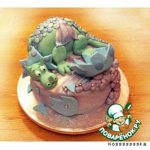"""Торт """"Морской Дракон"""""""