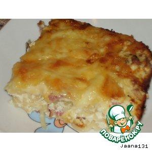 Супер-сырная запеканка