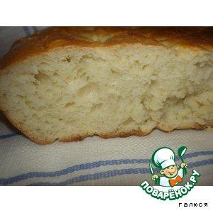 """Домашний хлеб """"Обрусевший чурек"""""""