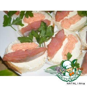 "Бутербродики ""Рыбная фантазия"""