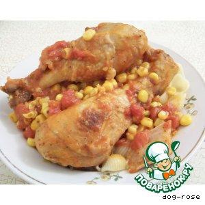 Курица по-техасски