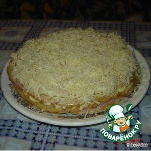 """Закусочный пирог  """"Магги"""""""