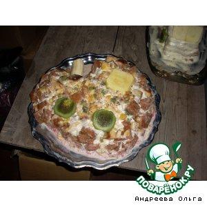 """Именинный торт """"Паровозик"""""""