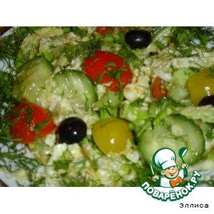 Салат овощной ассорти