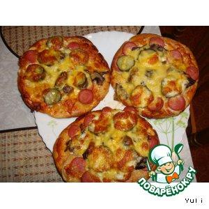 Пицца на пите